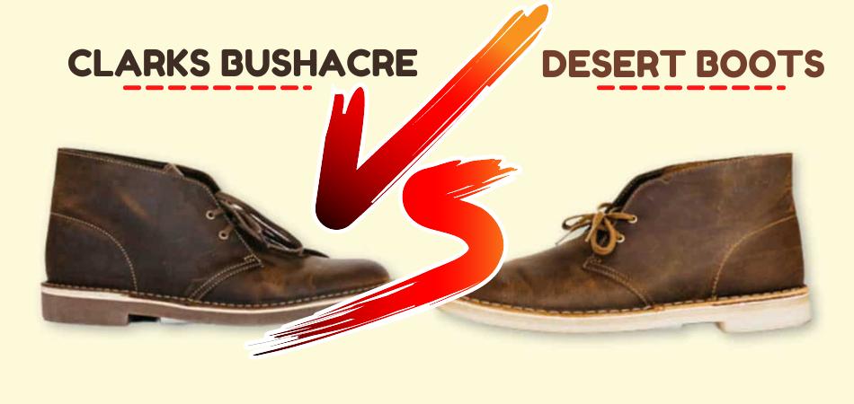 Clarks Bushacre Vs Desert Boots