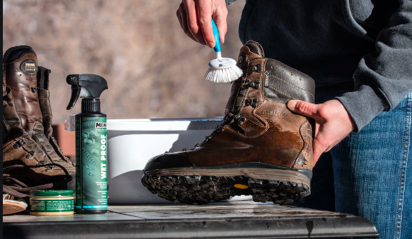 Spend Some Time Cleaning Your Boots