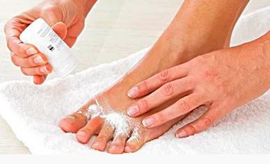 Use Antifungal Powder to Prevent Sweating