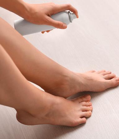 Use a Foot Deodorant