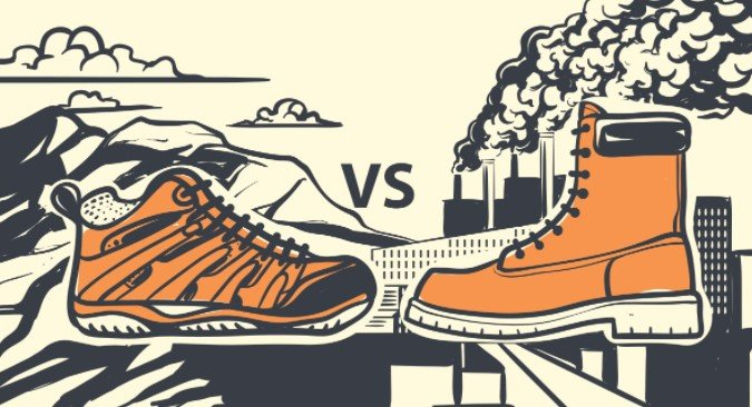 Difference Between Hiking Boots And Work Boots